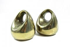 Ben Seibel Ben Seibel for Jenfred Ware Orb Brass Bookends - 307873