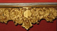 Benedetto Aufieri Gilded and Carved Two Drawer Console of Extraordinary Quality - 278057