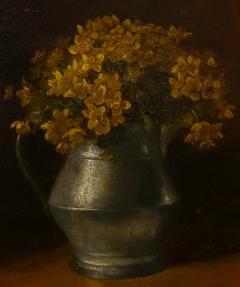 Benjamin Champney Benjamin Champney Still Life Painting of Yellow Flowers - 1303740
