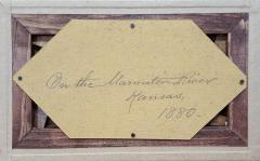 Benjamin Hartley On the Marmaton River Kansas 1880 - 331051