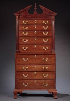 Benjamin Ross CHIPPENDALE CHEST ON CHEST Made by Benjamin Ross - 1336431