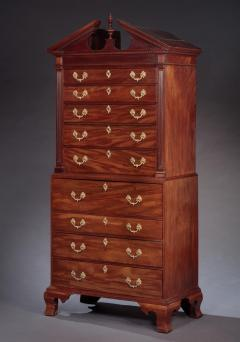 Benjamin Ross CHIPPENDALE CHEST ON CHEST Made by Benjamin Ross - 1336438
