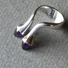 Bent Gabrielsen Georg Jensen Sterling Silver Ring No 179 by Bent Gabrielsen - 242993