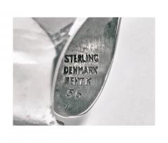 Bent Knudsen Bent Knudsen Danish Sterling Abstract Ring Mid 20th Century - 387222
