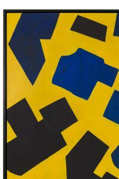 Bent S rensen Bent Sorensen Colorful Abstract Painting on Board Denmark 1990s - 1535971