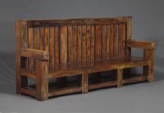 Bernard John Seymour Coleridge Arts And Crafts Bench Attributed To Bernard Second Baron Coleridge 1851 1927  - 1808763