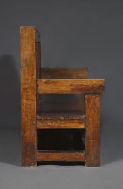 Bernard John Seymour Coleridge Arts And Crafts Bench Attributed To Bernard Second Baron Coleridge 1851 1927  - 1808764