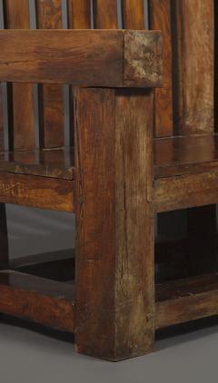 Bernard John Seymour Coleridge Arts And Crafts Bench Attributed To Bernard Second Baron Coleridge 1851 1927  - 1808768