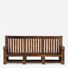 Bernard John Seymour Coleridge Arts And Crafts Bench Attributed To Bernard Second Baron Coleridge 1851 1927  - 1810105