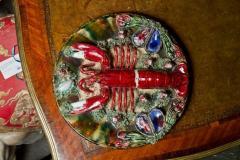 Bernard Palissy Majolica Palissy Style Plate - 788574