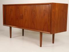 Bernard Pedersen Scandinavian Modern Teak Sideboard Credenza Designed by Bernard Pedersen - 2012366