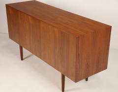 Bernard Pedersen Scandinavian Modern Teak Sideboard Credenza Designed by Bernard Pedersen - 2012386