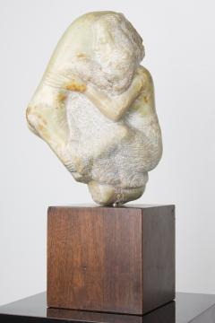 Bernard Simon Etched Marble Lovers Embrace by Bernard Simon - 356129