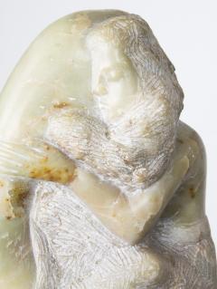 Bernard Simon Etched Marble Lovers Embrace by Bernard Simon - 356132