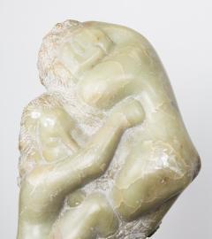 Bernard Simon Etched Marble Lovers Embrace by Bernard Simon - 356133