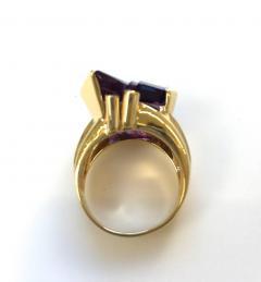 Bernd Munsteiner for H Stern Amethyst and Diamond Ring - 91007