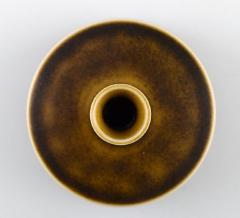 Berndt Friberg Berndt Friberg Studio ceramic vase Modern Swedish design Unique handmade - 1293469