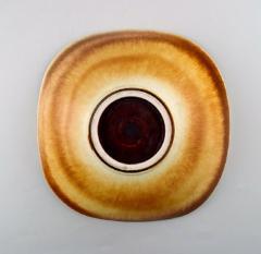 Berndt Friberg Large ceramic bowl Modern Swedish design Unique handmade - 1293479