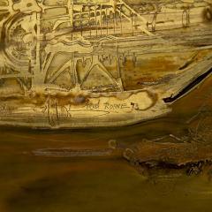 Bernhard Rohne Bernard Rohne Etched Brass Artwork - 1825961