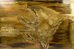 Bernhard Rohne Bernard Rohne Etched Brass Artwork - 1861417