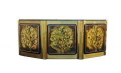 Bernhard Rohne Bernhard Rohne for Mastercraft Tree of Life Credenza Sideboard Cabinet - 1749292