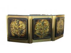 Bernhard Rohne Bernhard Rohne for Mastercraft Tree of Life Credenza Sideboard Cabinet - 1749313