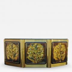 Bernhard Rohne Bernhard Rohne for Mastercraft Tree of Life Credenza Sideboard Cabinet - 1750100