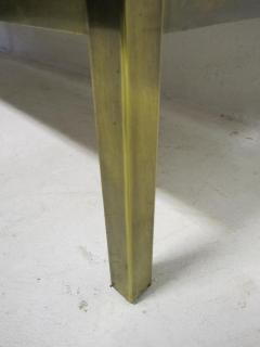 Bernhard Rohne Outstanding Acid Etched Brass Credenza by Bernard Rohne Mastercraft - 1684939
