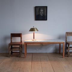 Bernt Petersen Bernt Petersen Mahogany and Marble Coffee Table - 1168197