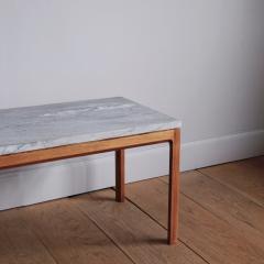 Bernt Petersen Bernt Petersen Mahogany and Marble Coffee Table - 1168198