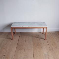 Bernt Petersen Bernt Petersen Mahogany and Marble Coffee Table - 1168201