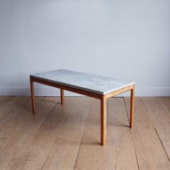 Bernt Petersen Bernt Petersen Mahogany and Marble Coffee Table - 1168202