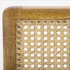 Bernt Petersen Oak and Cane 3 Seat Sofa - 354155
