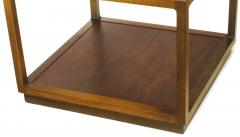 Bert England Bert England East Indian Laurel Side Table with Etched Brass Top for Baker - 900139