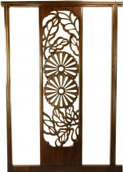 Bert England Bert England Orientation Group Carved Mahogany Tall King Headboard - 52648