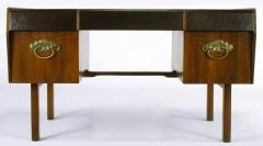 Bert England Bert England Persian Walnut and Leather Desk for John Widdicomb - 697578