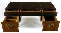 Bert England Bert England Persian Walnut and Leather Desk for John Widdicomb - 697580
