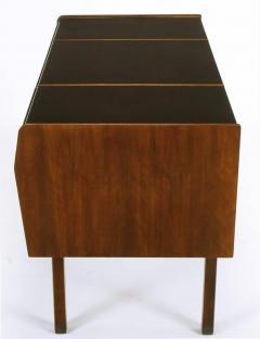 Bert England Bert England Persian Walnut and Leather Desk for John Widdicomb - 697582