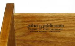 Bert England Bert England Persian Walnut and Leather Desk for John Widdicomb - 697587