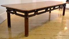 Bert England Brass Inlayed Asian Style Coffee Table Johnson Furniture Co circa 1960 - 570594