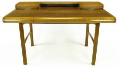 Bert England Rare Bert England East Indian Laurel and Ash Postmodern Writing Desk - 899073