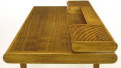 Bert England Rare Bert England East Indian Laurel and Ash Postmodern Writing Desk - 899076