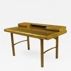 Bert England Rare Bert England East Indian Laurel and Ash Postmodern Writing Desk - 899275