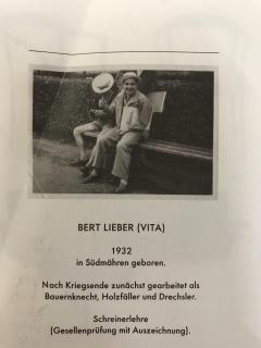 Bert Lieber Teak and Leather Chair Bert Lieber Walter Knoll 60s - 1638719