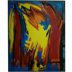 Bert Miripolsky Bold and Graphic Oil Painting by Bert Miripolsky - 497122