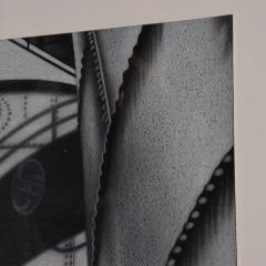 Bert Stern Modern Abstract Architectural Black White Photography Signed Jeanine Stern - 906064