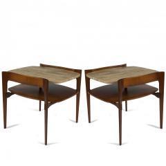 Bertha Schaefer Pair of Bertha Schaefer End Tables - 1160447