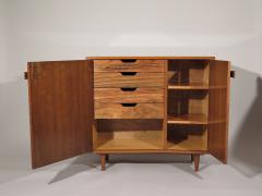 Bertha Schaefer Rare pair of asymmetrical cabinets - 810424