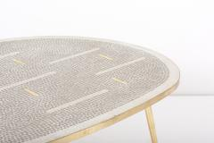 Berthold Muller Mosaic Coffee Table by Berthold M ller Germany 1950s - 2077155