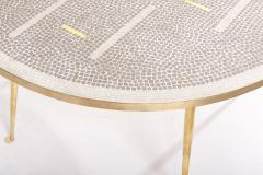 Berthold Muller Mosaic Coffee Table by Berthold M ller Germany 1950s - 2077161
